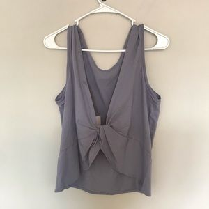 NWT Fabletics Twist Back Top